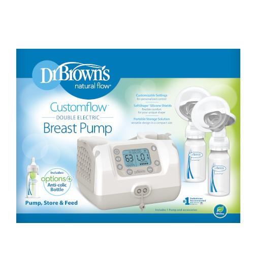 Customflow double electric breast pump packaging